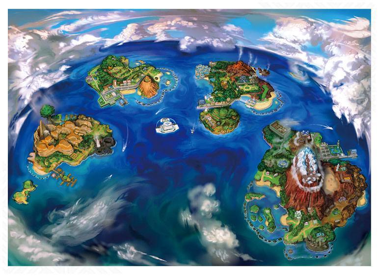 Islas de Alola Pokémon Sol y Luna