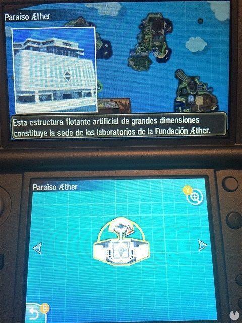 Pokémon Sol y Luna Paraíso Aether