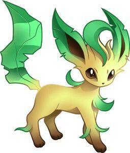 Leafeon Pokémon Sol y Luna