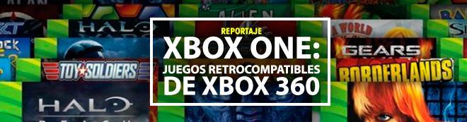 XBOX ONE: Juegos retrocompatibles de Xbox 360 (Actualizado 2017)