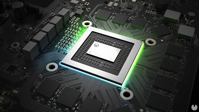 El chip de Xbox One X, Scorpio