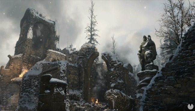 Mapa Ardennes Forest de Call of Duty: WWII