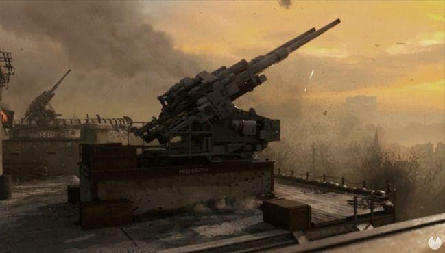 Mapa Flak Tower de Call of Duty: WWII