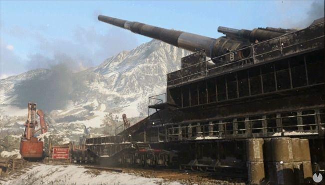 Mapa Gustav Cannon de Call of Duty: WWII