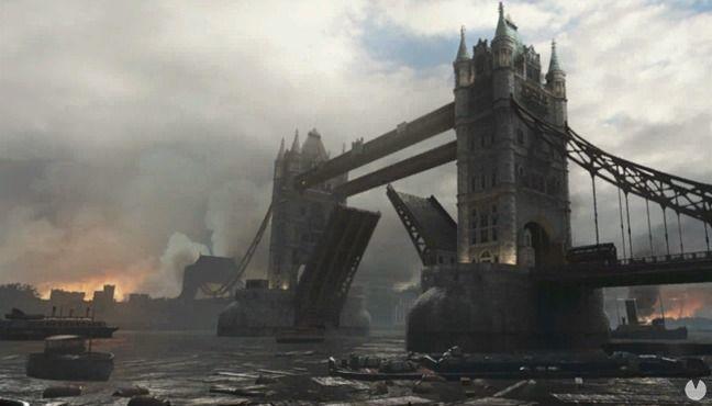 Mapa London Docks de Call of Duty: WWII
