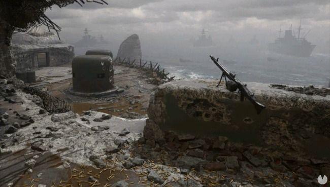 Mapa Pointe du Hoc de Call of Duty: WWII