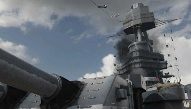Mapa USS Texas de Call of Duty: WWII