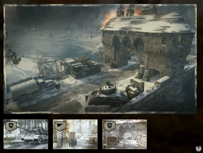 Mapa Operation Griffin de Call of Duty: WWII