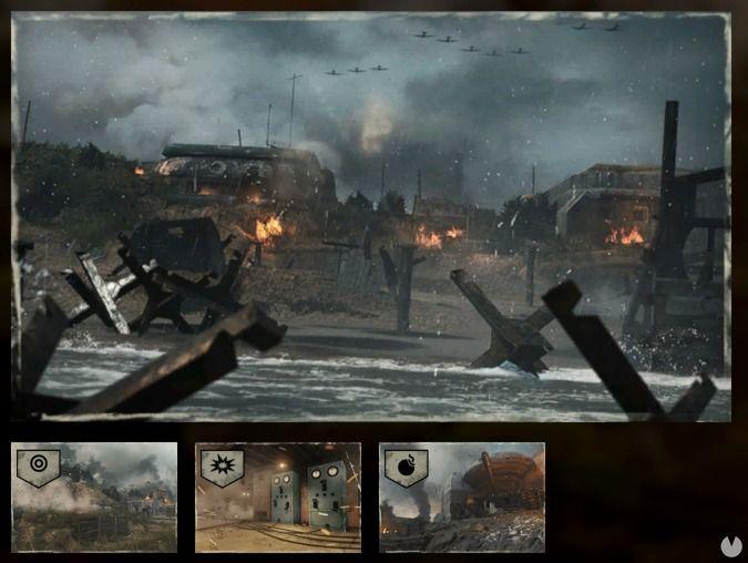 Mapa Operation Neptune de Call of Duty: WWII