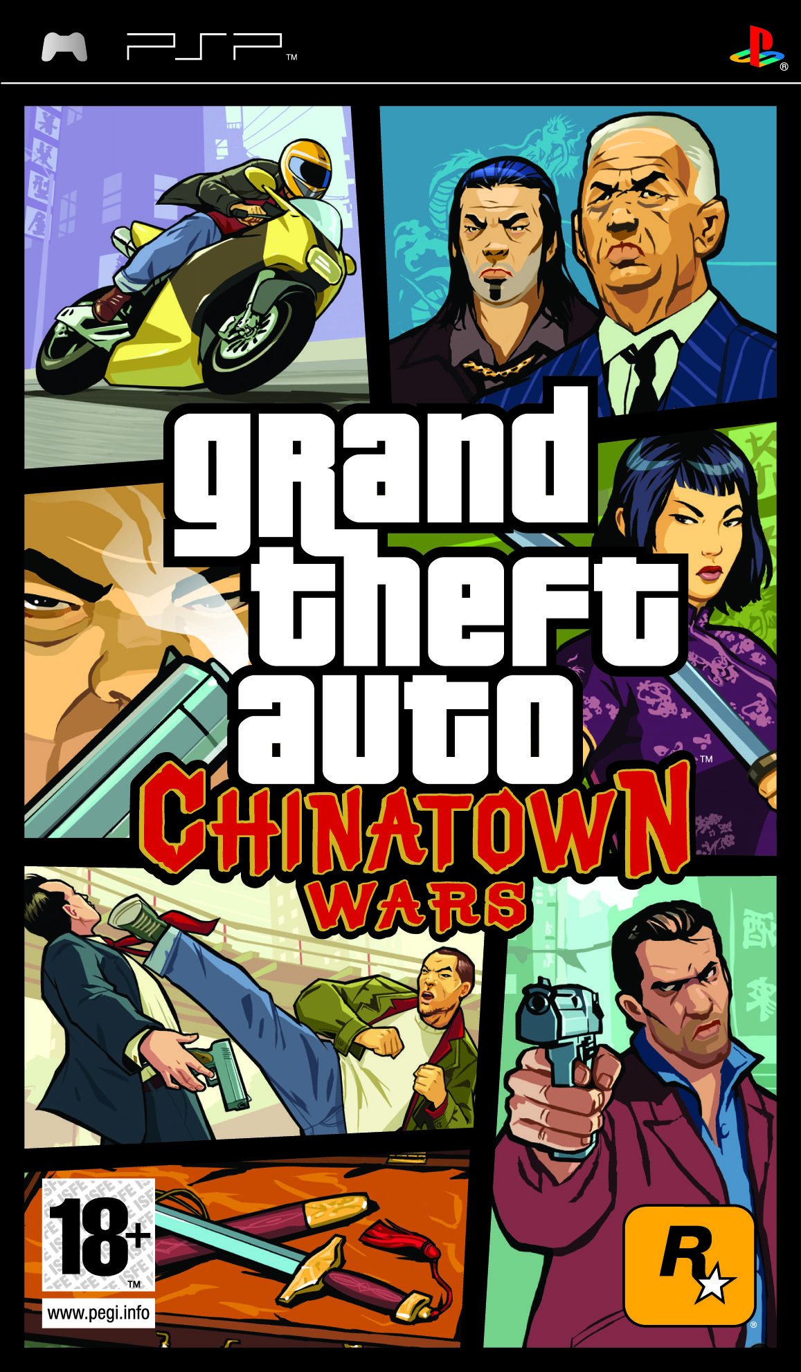 Car�tula Grand Theft Auto: Chinatown Wars PSP