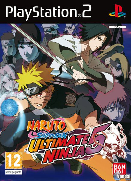 Car�tula Naruto Shippuden: Ultimate Ninja 5 PlayStation 2