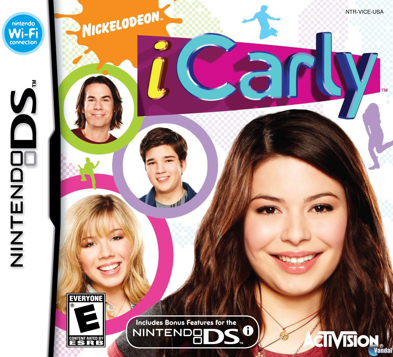 Car�tula i Carly Nintendo DS