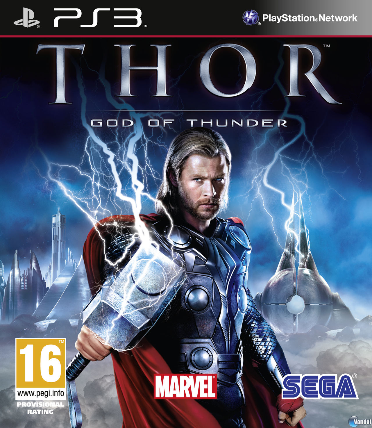 Car�tula Thor: Dios del Trueno PlayStation 3