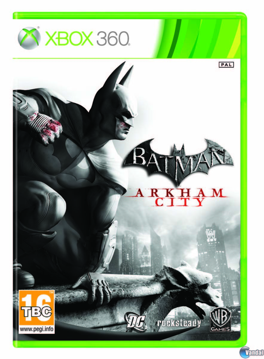 Car�tula Batman: Arkham City Xbox 360