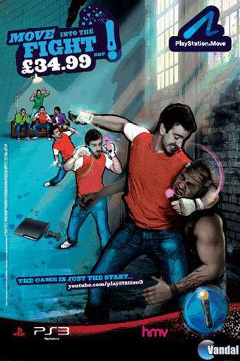 Retiran un anuncio impreso de PS Move por ser demasiado violento 20101222143612_1