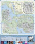 Imagen 3 Rockstar desvela los mapas digitales de GTA 3, Vice City y San Andreas