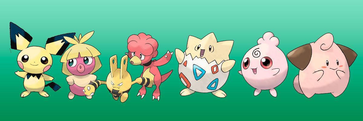 Pokémon Bebé