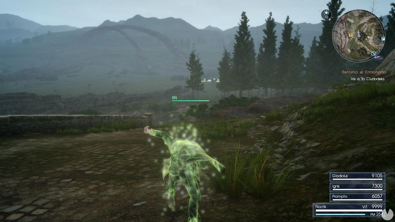 Correr infinito en Final Fantasy XV