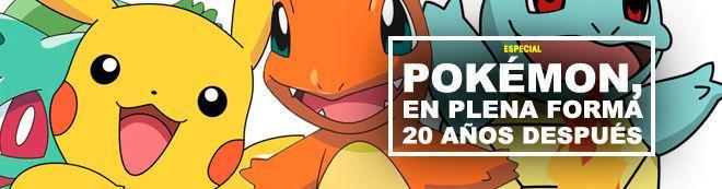 Pokémon, en plena forma 20 años después