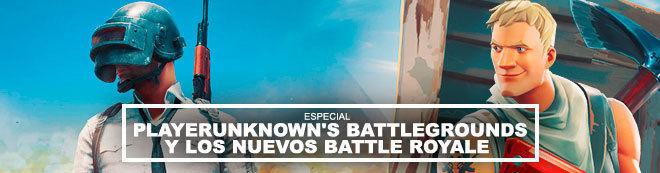 Playerunknown's Battlegrounds y los nuevos Battle Royale