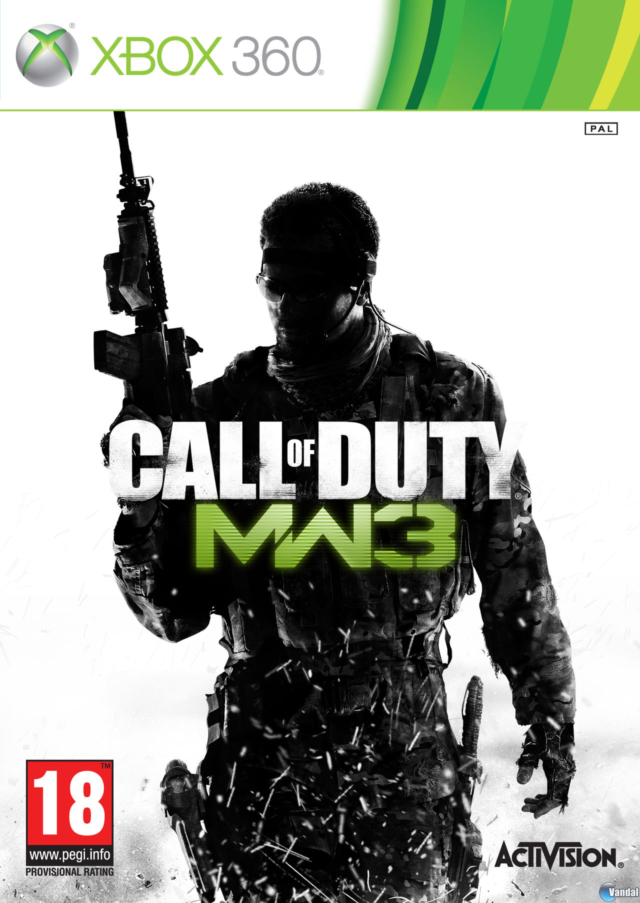 Car�tula Call of Duty: Modern Warfare 3 Xbox 360