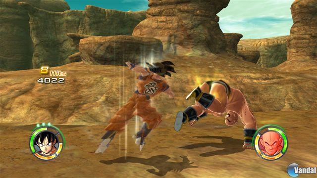 36 Nuevas imágenes de Dragon Ball Raging Blast 2