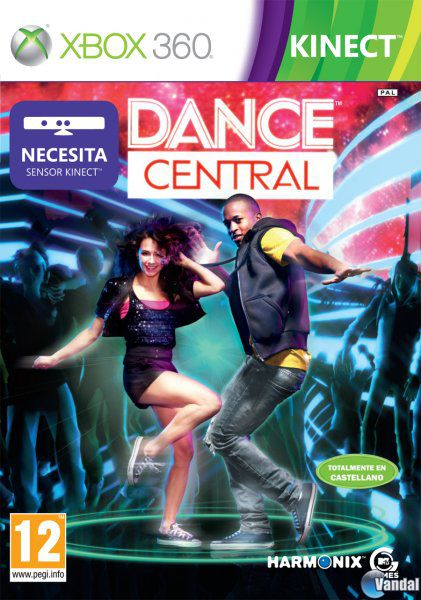Car�tula Dance Central Xbox 360