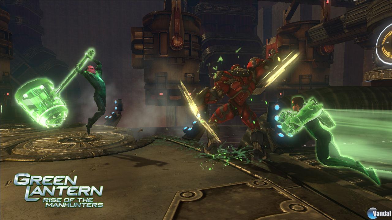 Imagen 19 de Green Lantern: Rise of the Manhunters para PlayStation 3