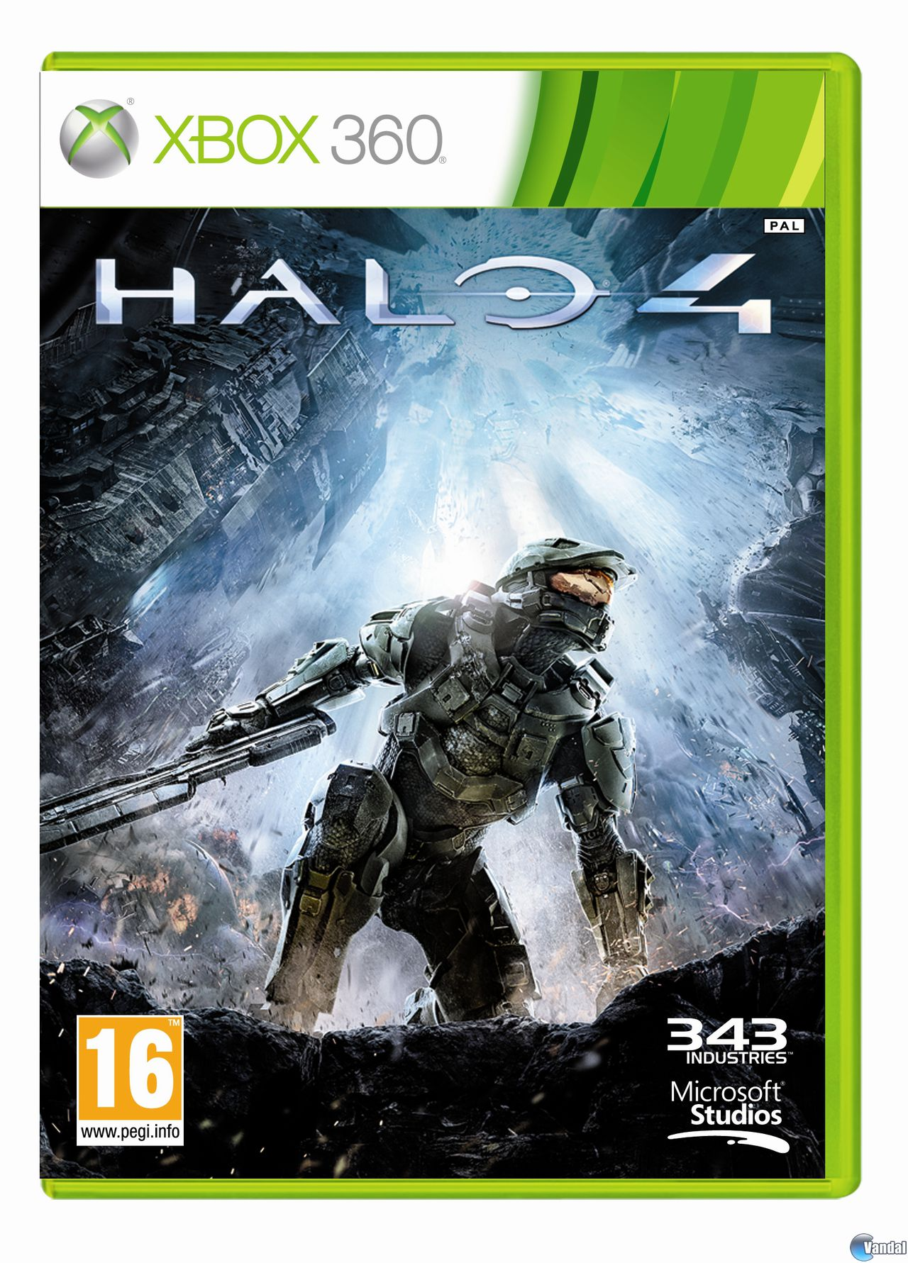 Car�tula Halo 4 Xbox 360