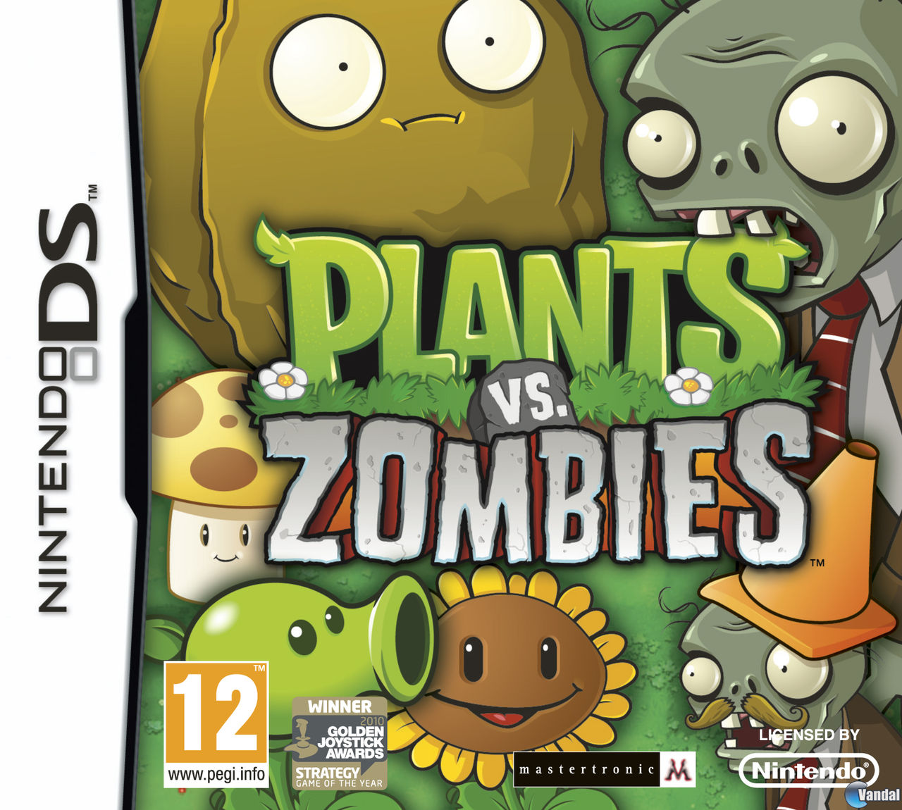 descargar Plantas vs Zombies para nintendo ds