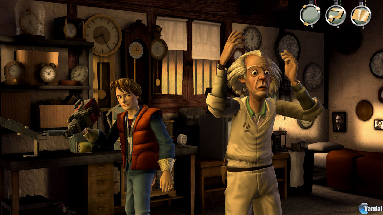 Imagen 3 de Back to the Future Ep. 1: It's About Time PSN para PlayStation 3