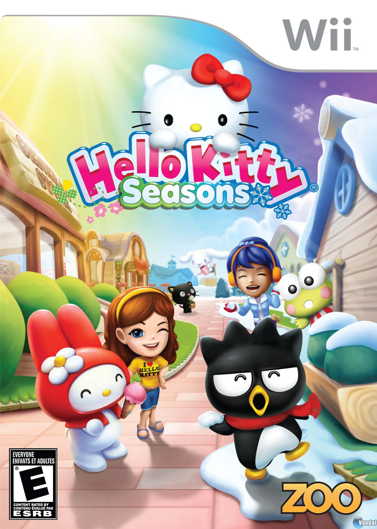 Hello Kitty Seasons TODA la informacin  Wii  Vandal