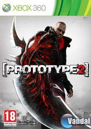 Car�tula Prototype 2 Xbox 360