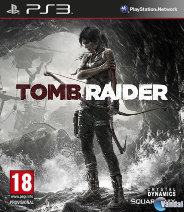 Cartula Tomb Raider PlayStation 3