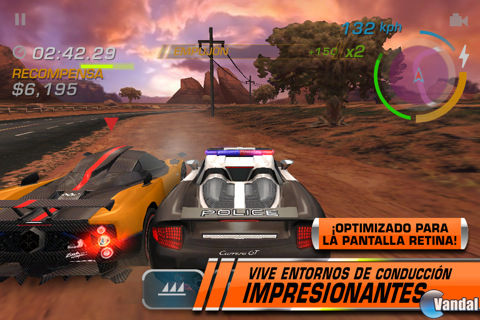 Jarretts Fantasy Auto Racing on Imagen Need For Speed Hot Pursuit   Iphone Imagen 4