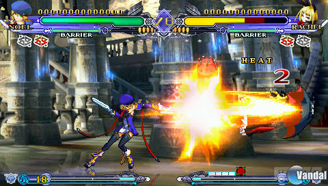 Imagen 27 de BlazBlue: Continuum Shift II para Nintendo 3DS