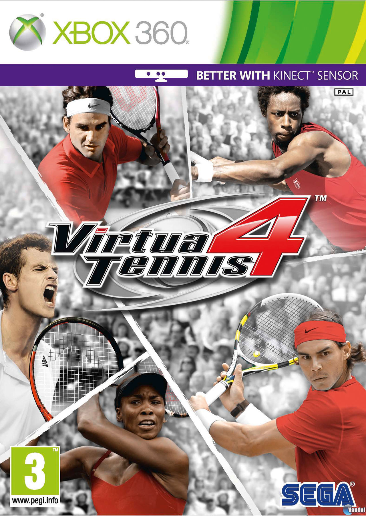 Descarga Virtua Tennis 4 xbox 360