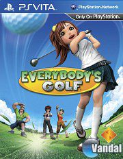 Car�tula Everybody's Golf PSVITA
