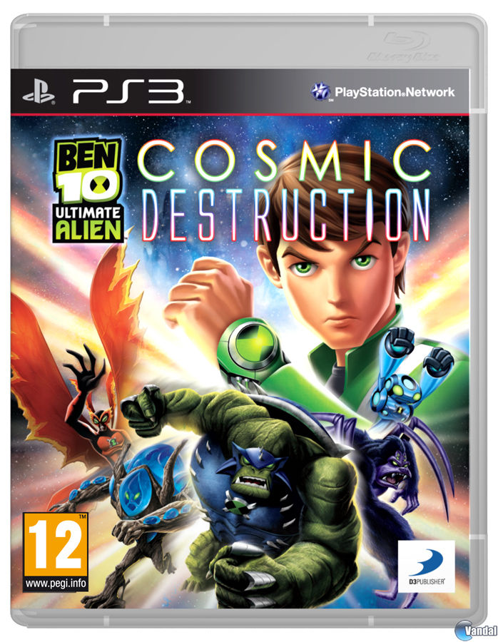 Imagen 1 de Ben 10 Ultimate Alien Cosmic Destruction para PlayStation 3