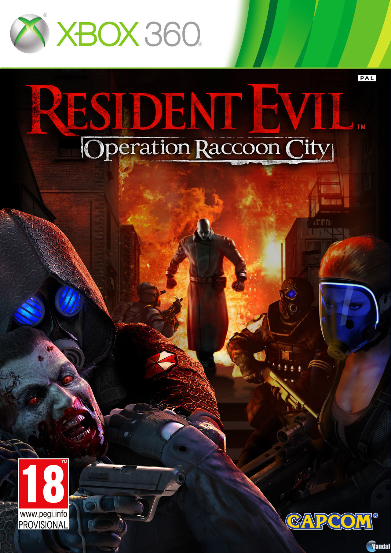 Resident Evil: Operation Racoon City Xbox360