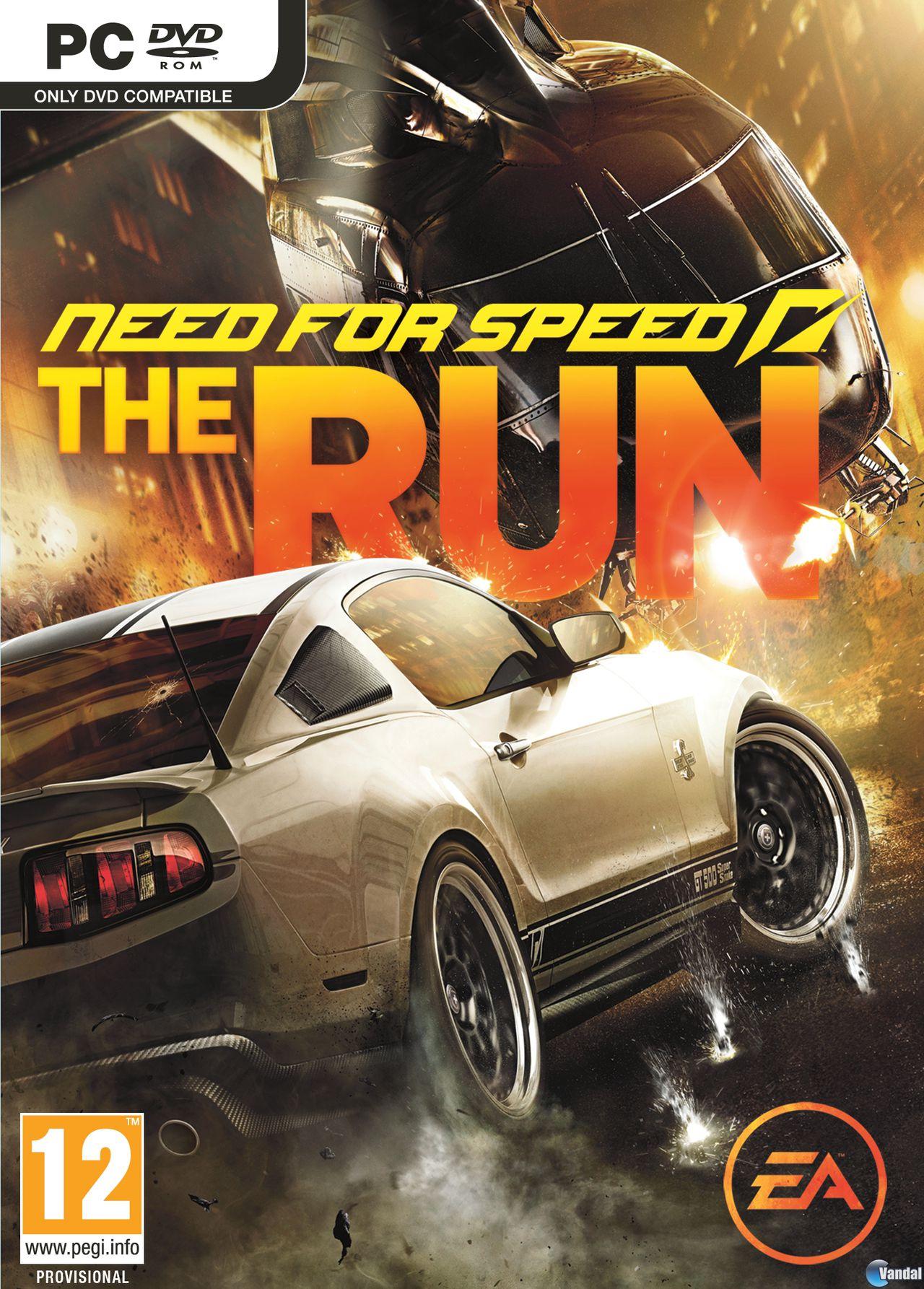 Carátula de Need for Speed: The Run para Ordenador