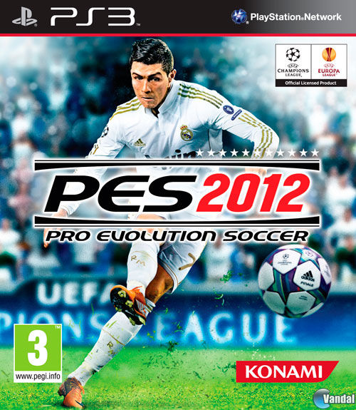 Car�tula Pro Evolution Soccer 2012 PlayStation 3