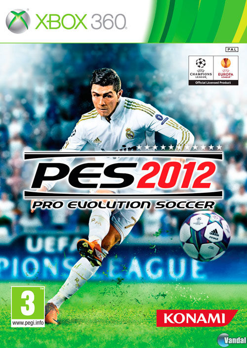 Car�tula Pro Evolution Soccer 2012 Xbox 360