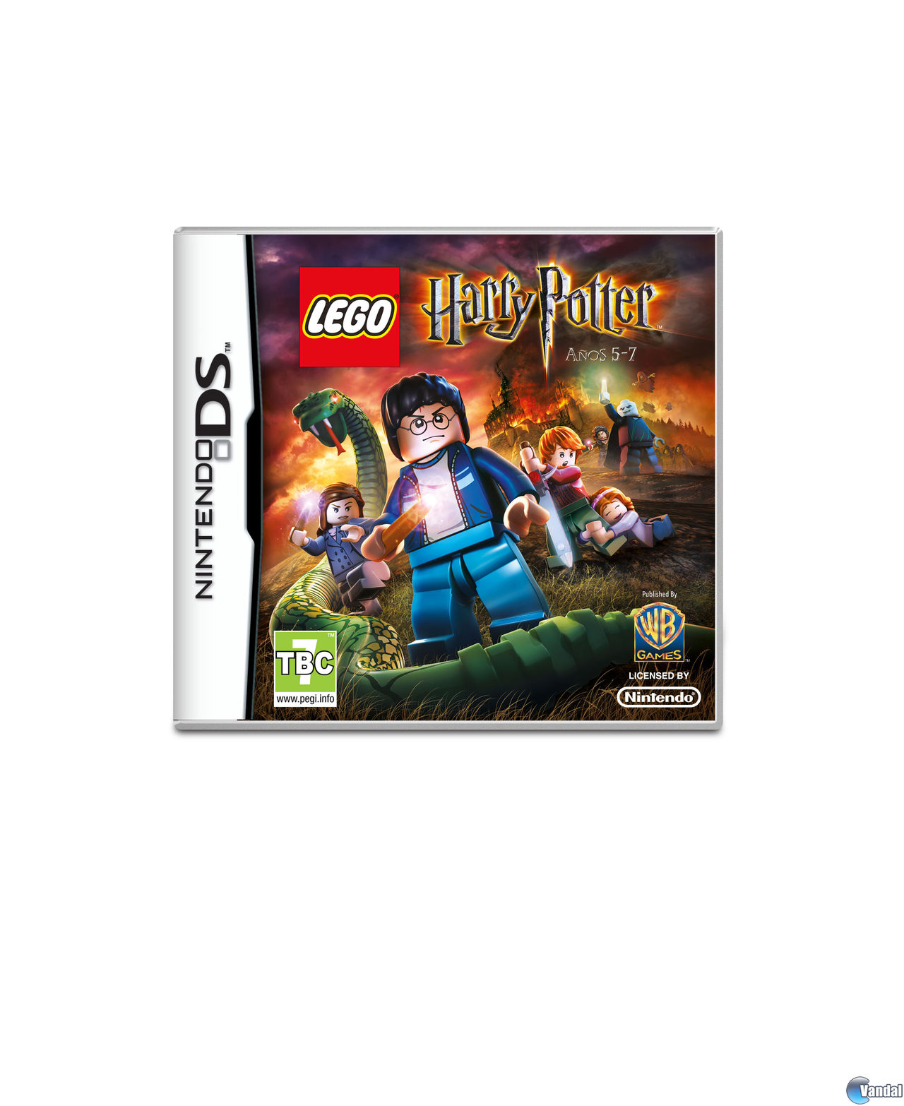 Car�tula LEGO Harry Potter: a�os 5-7 Nintendo DS