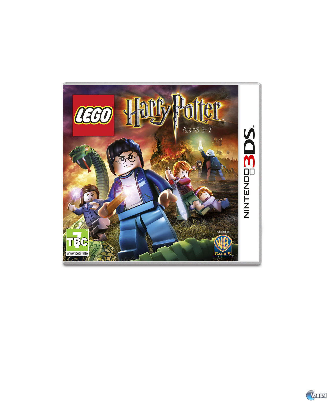 Car�tula LEGO Harry Potter: a�os 5-7 Nintendo 3DS