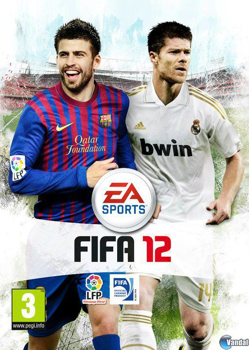 Car�tula FIFA 12 PlayStation 2