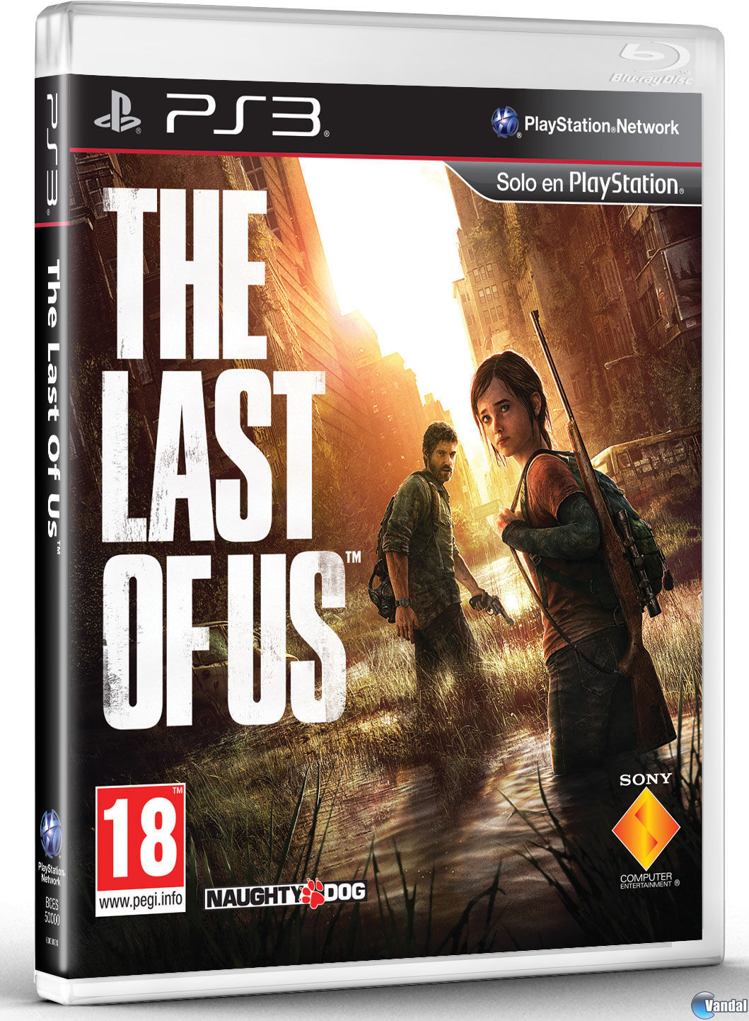 Car�tula The Last of Us PlayStation 3
