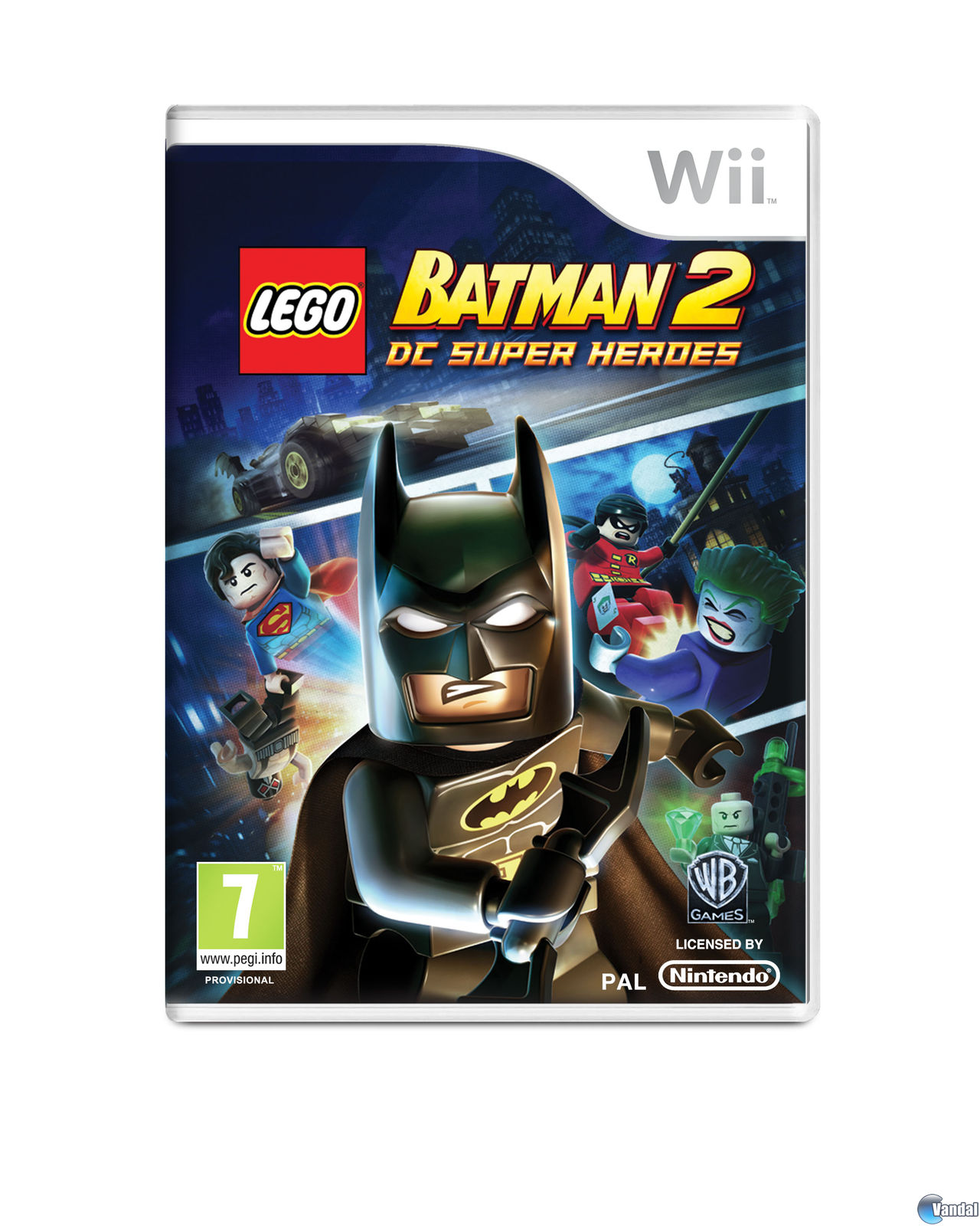 Trucos lego batman 2 dc super heroes wii claves gu as for Codigos de lego batman