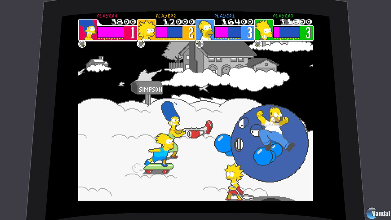 Imagen 4 de The Simpsons Arcade XBLA para Xbox 360