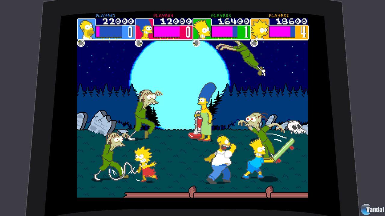 Imagen 6 de The Simpsons Arcade XBLA para Xbox 360